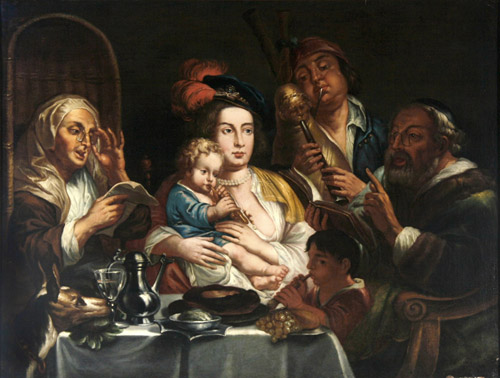 Jacob Jordaens (bottega)